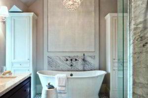 люстра в ванной фото 63