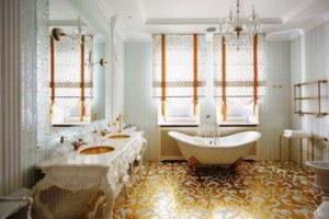 люстра в ванной фото 64