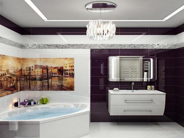 люстра в ванную фото 7