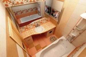 ванная комната 3 кв.м фото 12