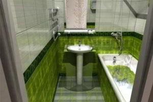 ванная комната 3 кв.м фото 31