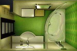 ванная комната 3 кв.м фото 34