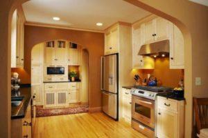 оформление стен кухни фото 11