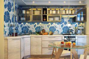 оформление стен кухни фото 13