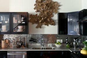 оформление стен кухни фото 14