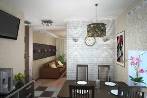 оформление стен кухни фото 16
