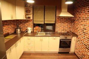 оформление стен кухни фото 21