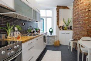 оформление стен кухни фото 26