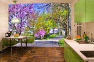 оформление стен кухни фото 27
