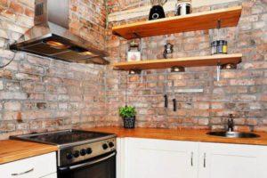 оформление стен кухни фото 30