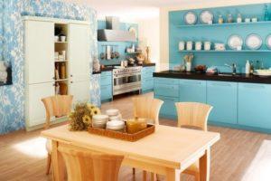 оформление стен кухни фото