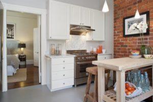 оформление стен кухни фото 41