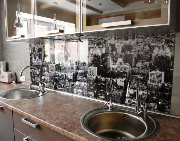 оформление стен на кухне фото 10