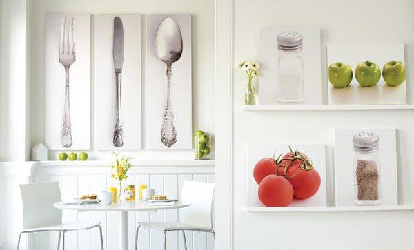 оформление стен на кухне фото 16
