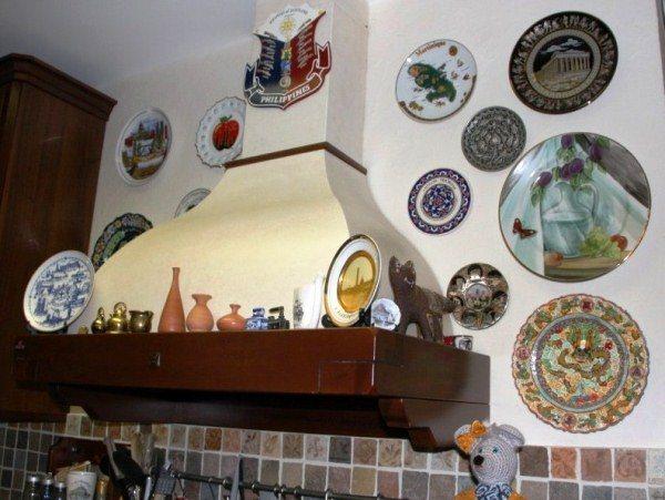 оформление стен на кухне фото 18