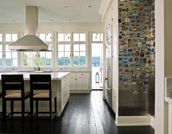 оформление стен на кухне фото 19