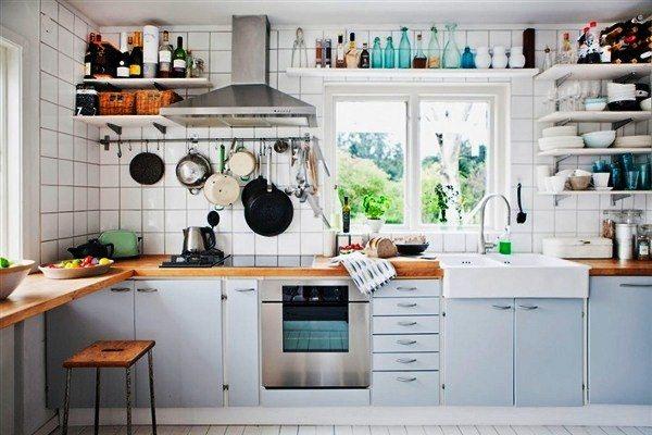 оформление стен на кухне фото 20