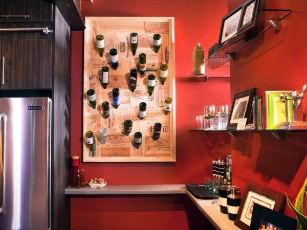 оформление стен на кухне фото 21