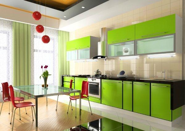 оформление стен на кухне фото 7