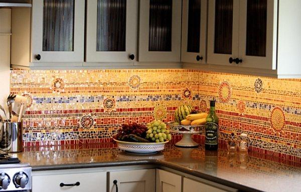 оформление стен на кухне фото 8