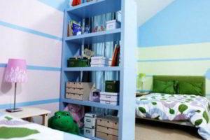 перегородки в комнате для зонирования фото 34