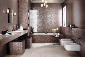 плитка мозаика для ванной комнаты дизайн фото 22