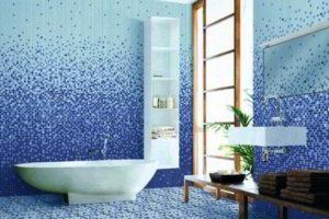 плитка мозаика для ванной комнаты дизайн фото 25