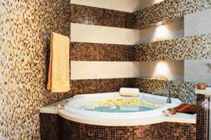 плитка мозаика для ванной комнаты дизайн фото 41