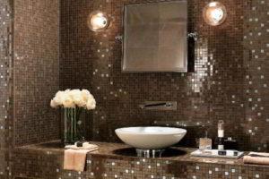 плитка мозаика для ванной комнаты дизайн фото 43
