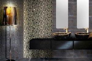 плитка мозаика для ванной комнаты дизайн фото 47