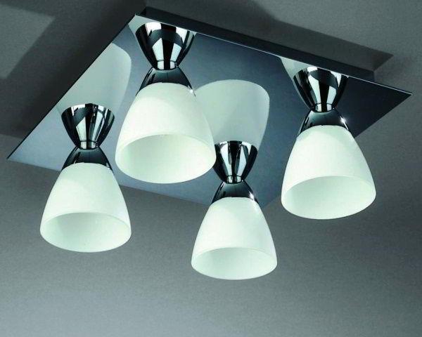 потолочные светильники для ванной комнаты фото 6