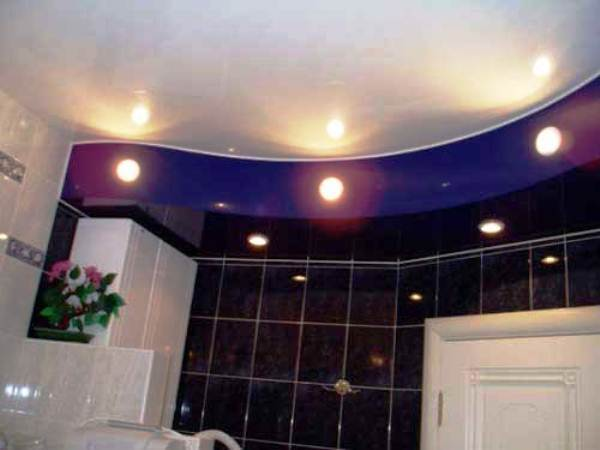 потолочные светильники для ванной комнаты фото 8