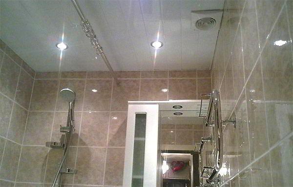 потолочные светильники для ванной комнаты фото 9