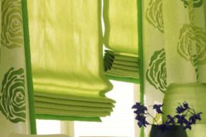 римские шторы на кухню фото 23