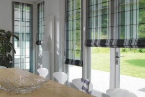 римские шторы на кухню фото 32