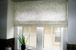 римские шторы на кухню фото 39