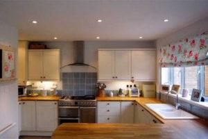 римские шторы на кухню фото 45
