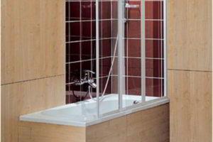 шторки в ванную фото 14