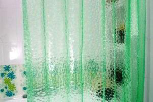 шторки в ванную фото 16