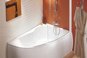 шторки в ванную фото 24