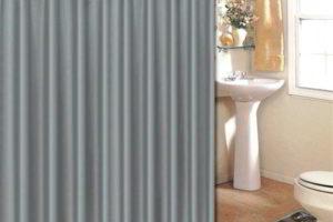 шторки в ванную фото 31