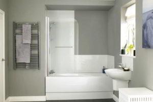 шторки в ванную фото 34