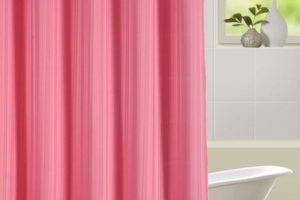 шторки в ванную фото 37