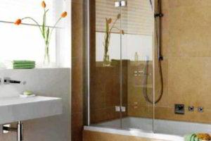 шторки в ванную фото 52