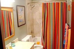 шторки в ванную фото 9