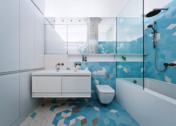 современный дизайн ванной комнаты фото 10