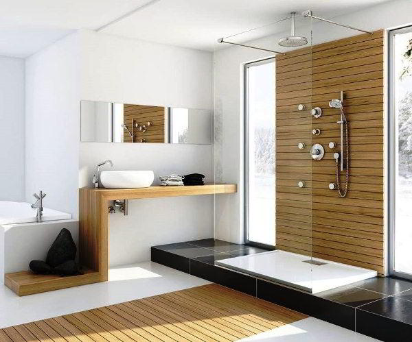 современный дизайн ванной комнаты фото 16