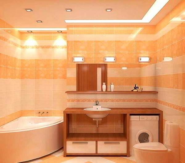 современный дизайн ванной комнаты фото 2