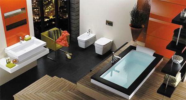 современный дизайн ванной комнаты фото 4