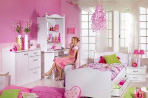 спальня для девочки фото 17